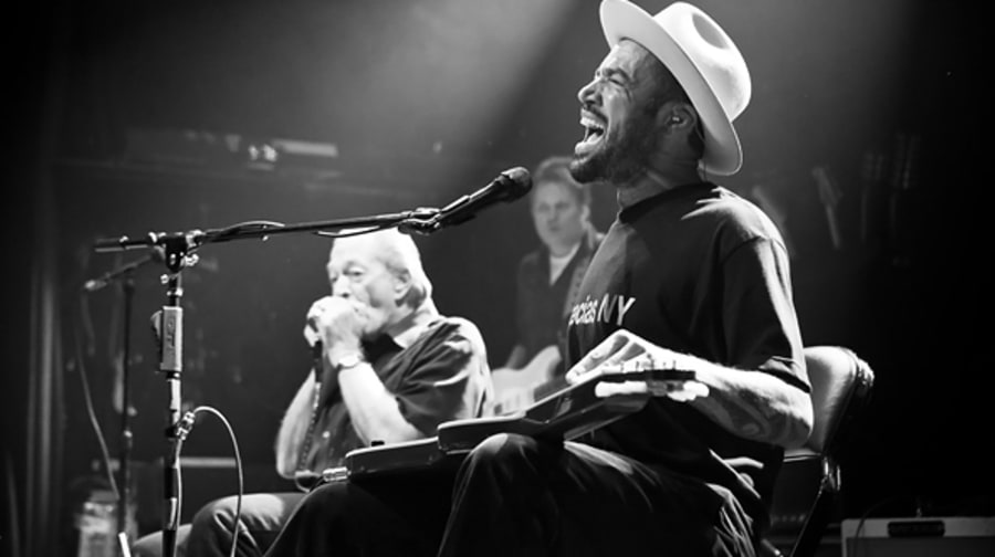 Ben Harper and Charlie Musselwhite