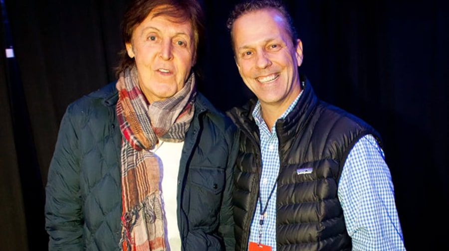 Paul McCartney and Matt Mastrangelo