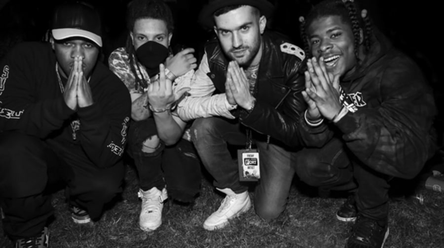 ASAP Ferg, Tarz, A-trak, and Marty Balla