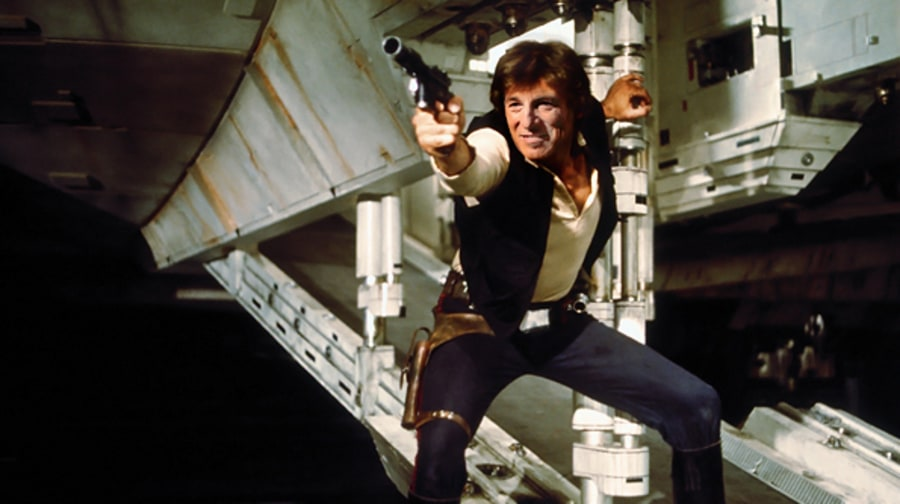 Bruce Springsteen as Han Solo