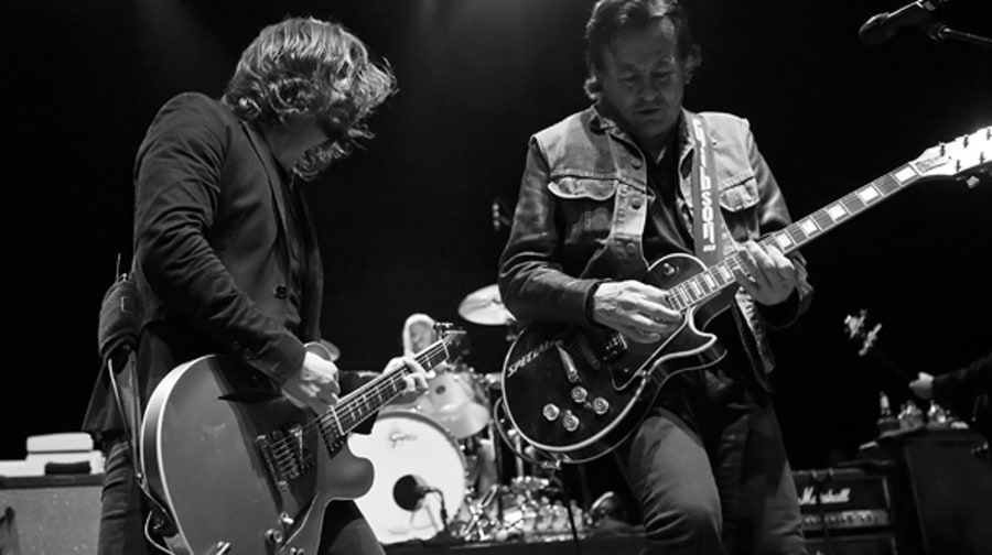 Dave Grohl and Lee Ving