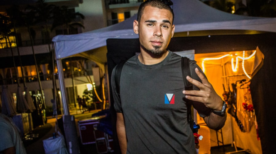 Backstage with Afrojack