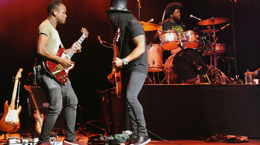 The Roots and Slash