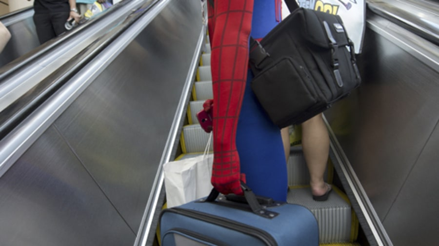 Spidey and His Suitcase