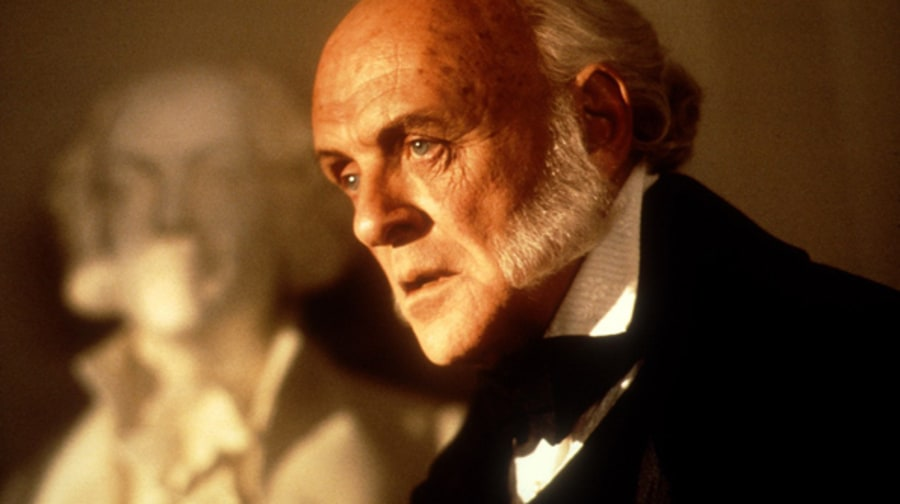 Anthony Hopkins as John Quincy Adams in 'Amistad' (1997)