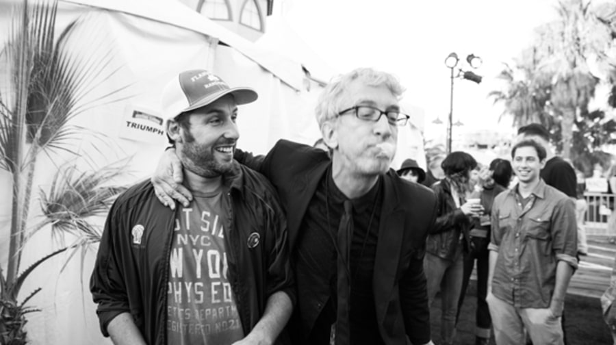 Andy Dick and Adam Sandler