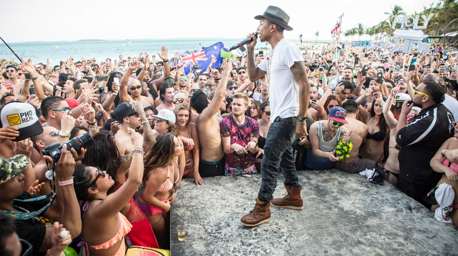 Pharrell on the Beach