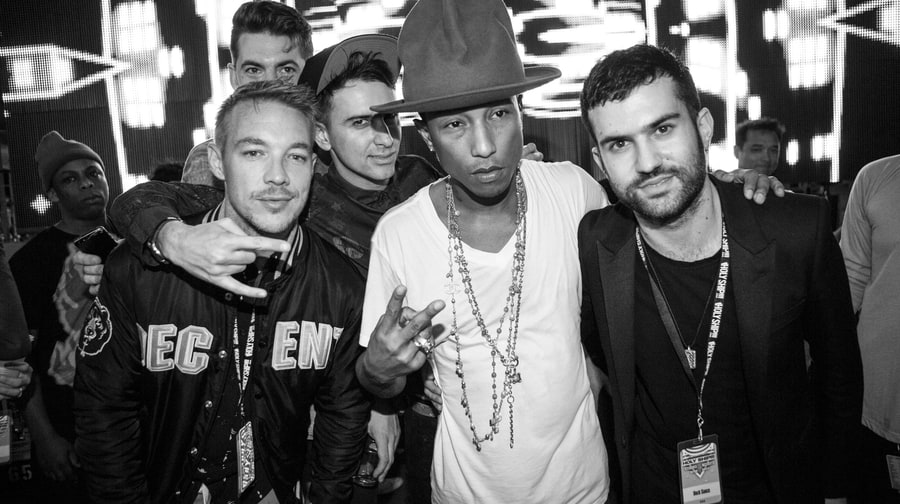 Diplo, Skream, Boys Noize, Pharrell and A-Trak
