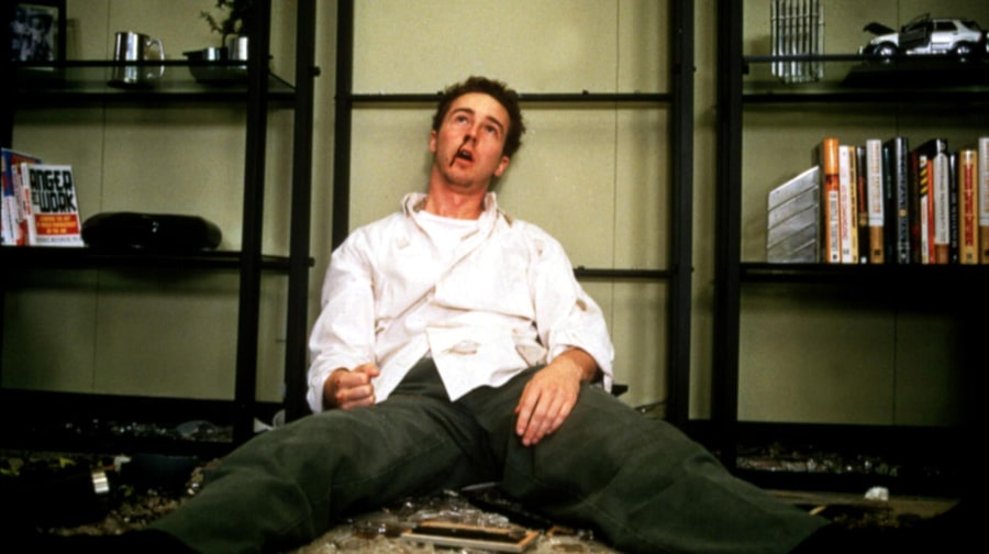 2. Edward Norton, 'Fight Club'