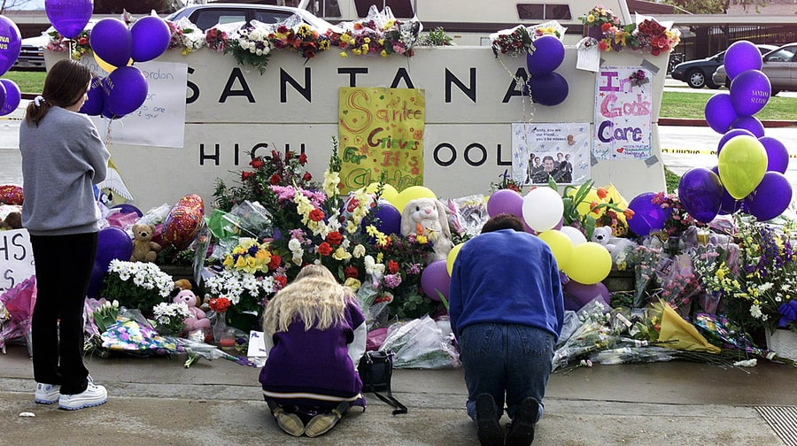 March 5th, 2001, Santana High School