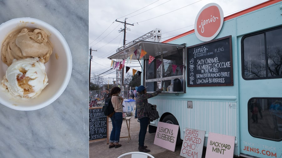 BEST FROZEN BLISS: Jeni's Ice Cream, Southbites Food Truck Lot