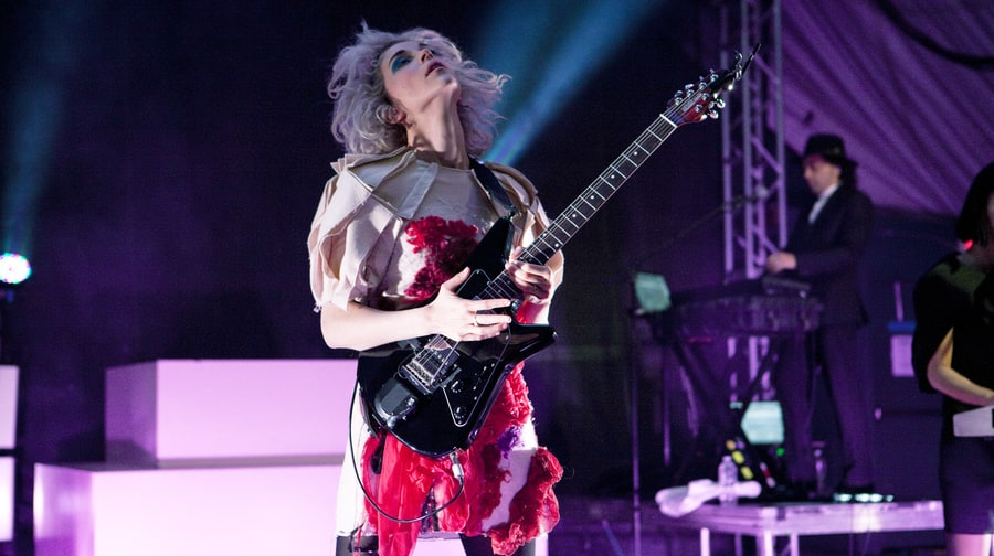 BEST OVERHAUL OF STALE ROCK-SHOW CHOREOGRAPHY: St. Vincent