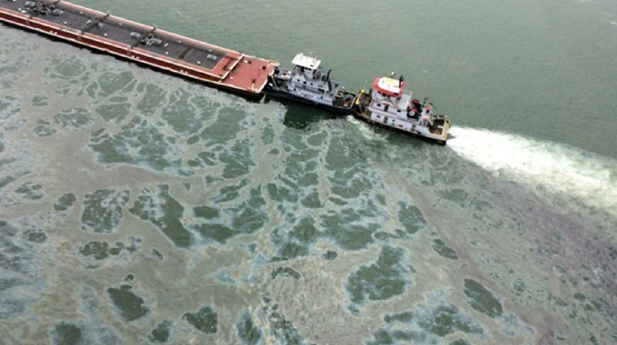 Galveston Bay, Texas, Oil Spill