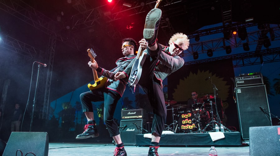 Best Old-School Punk-Rock Stage Persona: Toy Dolls