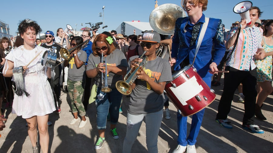 Best Out-of-Towner Tribute to New Orleans: Arcade Fire