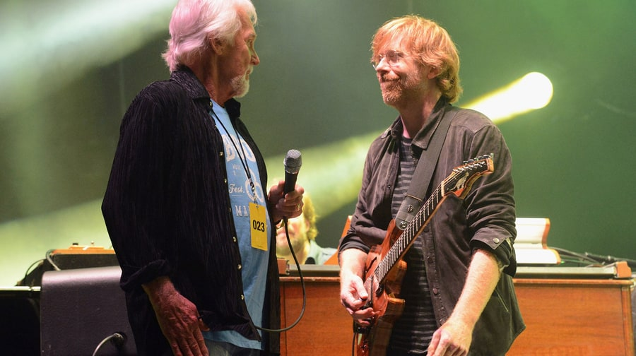 Kenny Rogers and Phish, 2012