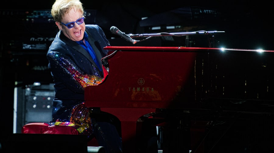 Best Reason Not to Leave Early: Elton John
