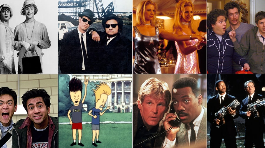 It Takes Two: Top 25 Best Buddy Comedies