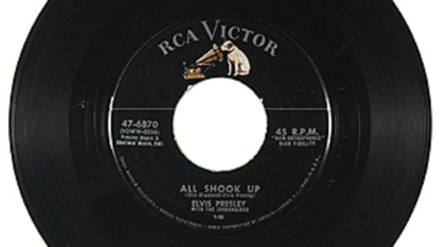 Elvis Presley, 'All Shook Up'