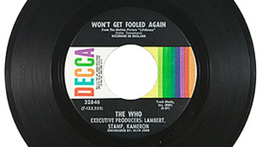 The Who, 'Won't Get Fooled Again'
