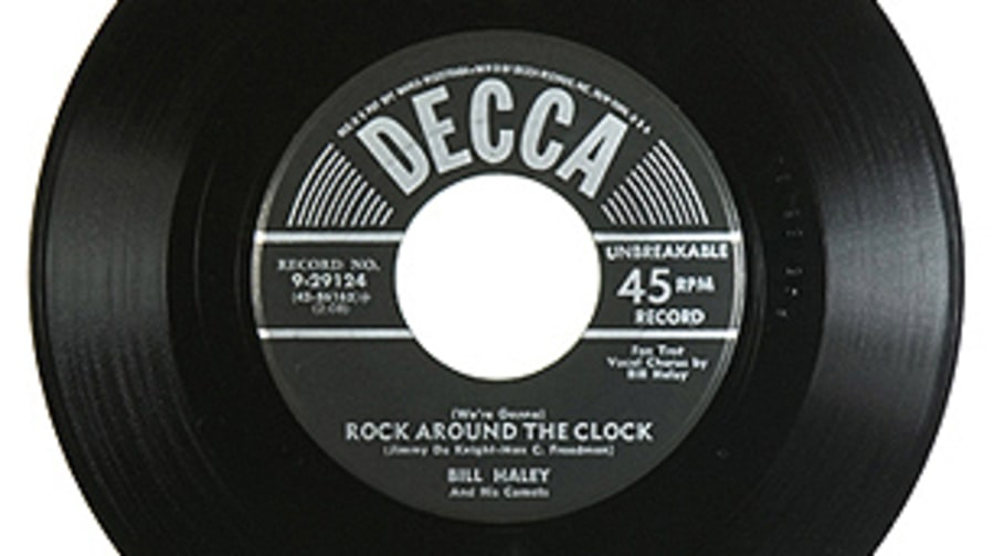 Bill Haley and His Comets, '(We're Gonna) Rock Around the Clock'