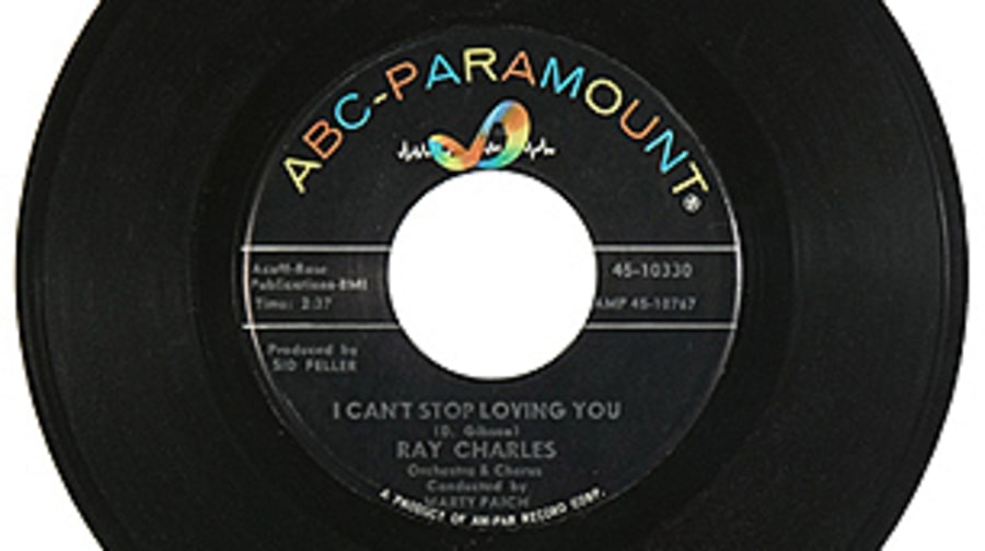 Ray Charles, 'I Can't Stop Loving You'