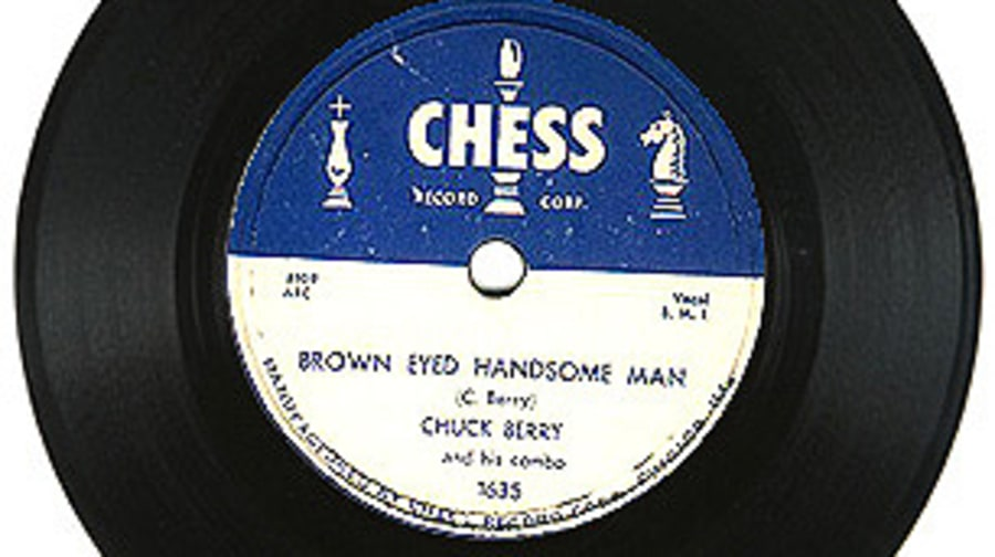 Chuck Berry, 'Brown Eyed Handsome Man'