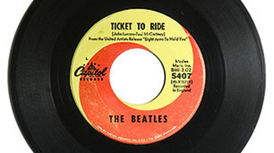 The Beatles, 'Ticket to Ride'