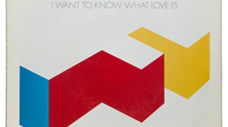 Foreigner, 'I Want to Know What Love Is'