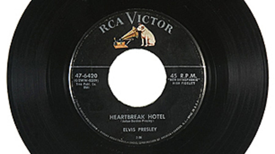 Elvis Presley, 'Heartbreak Hotel'