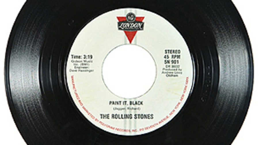The Rolling Stones, 'Paint it Black'