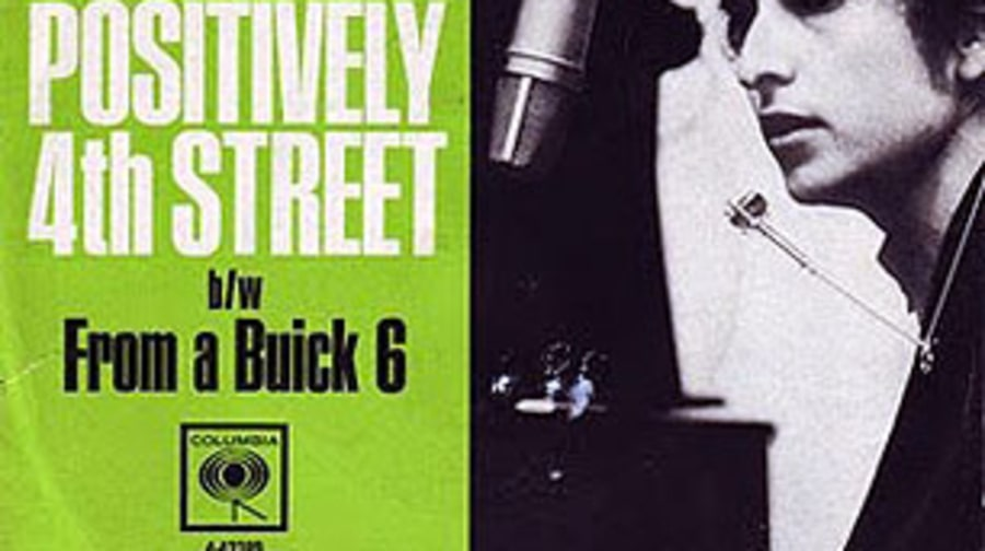 Bob Dylan, 'Positively 4th Street'