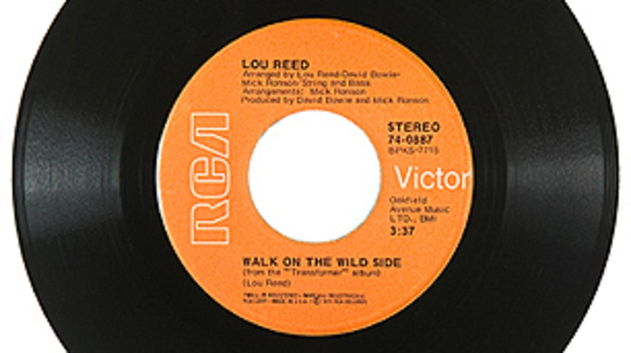 Lou Reed, 'Walk on the Wild Side'