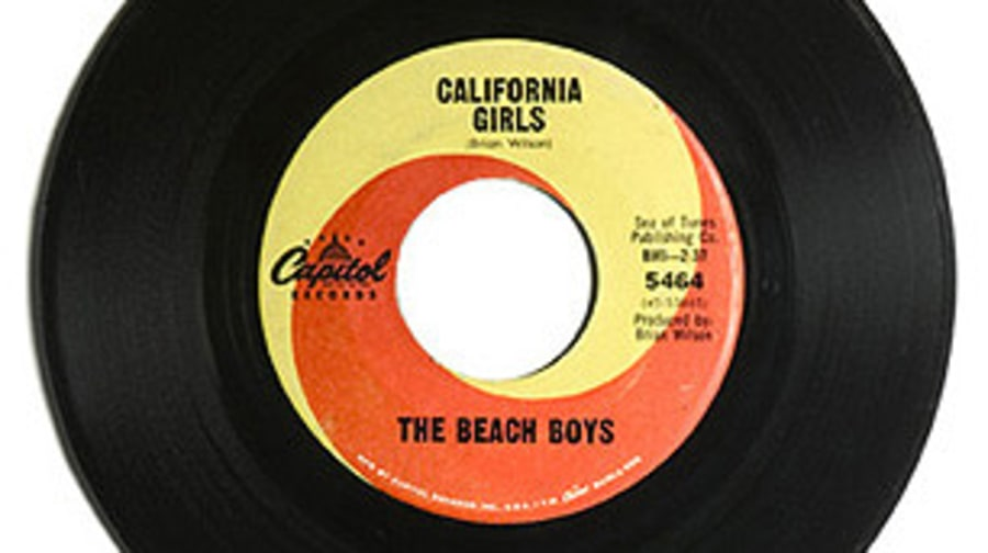 The Beach Boys, 'California Girls'