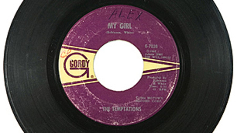 The Temptations, 'My Girl'