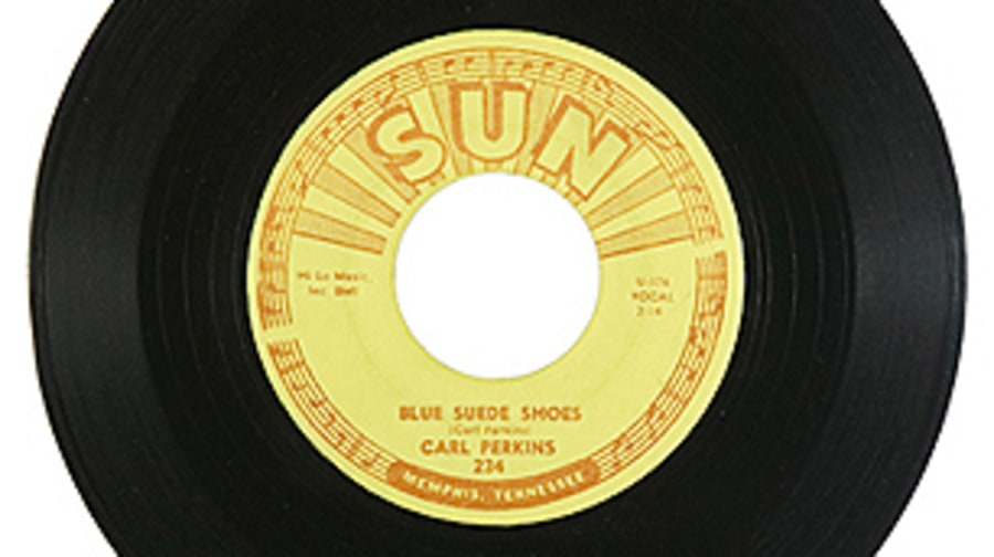 Carl Perkins, 'Blue Suede Shoes'