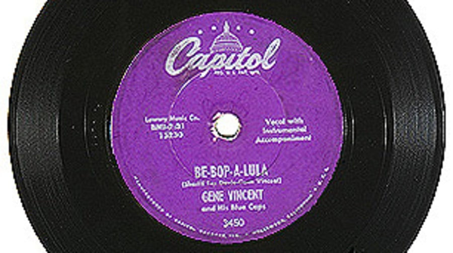 Gene Vincent and His Blue Caps, 'Be-Bop-A-Lula'