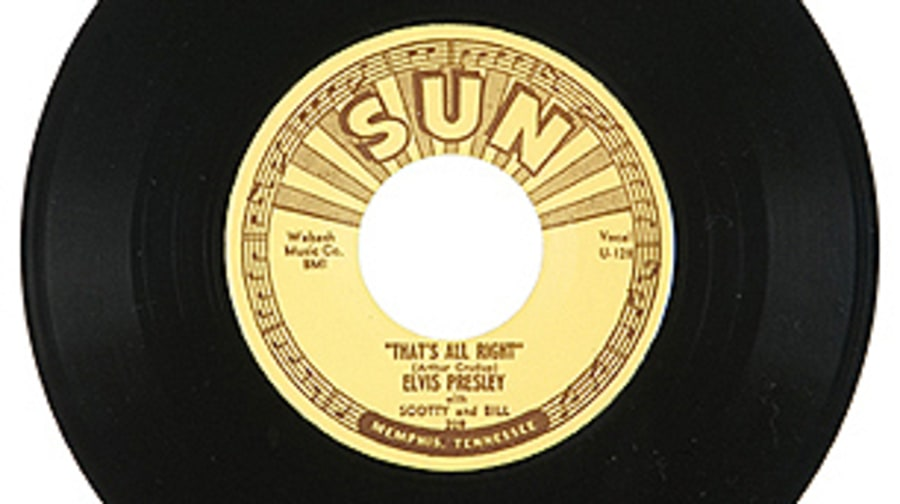 Elvis Presley, 'That's All Right'