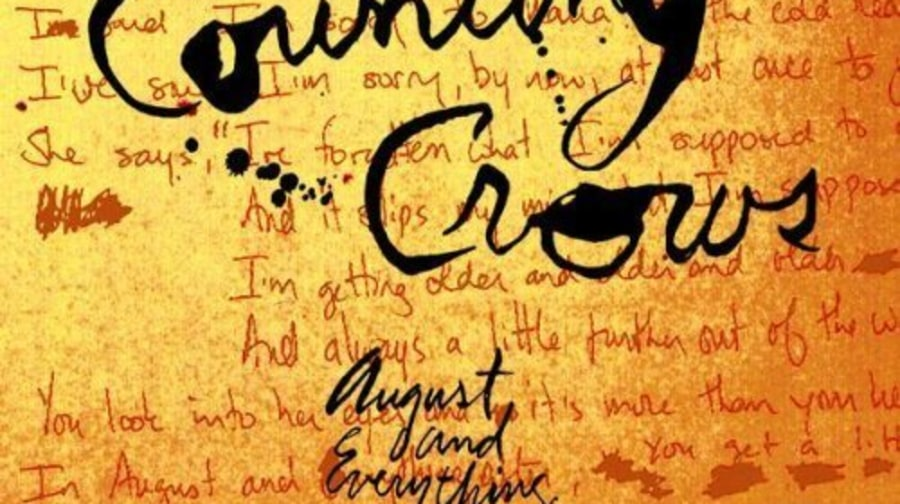 Counting Crows, 'August and Everything After'