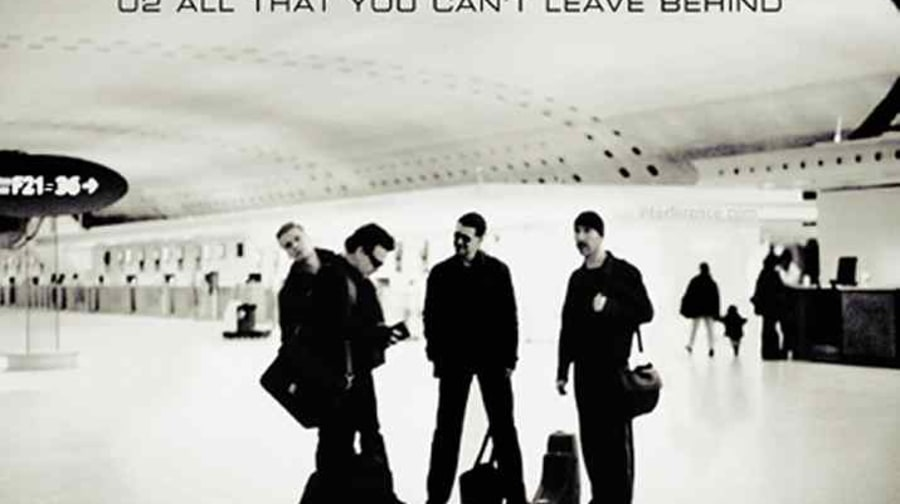 U2, 'All That You Can't Leave Behind'
