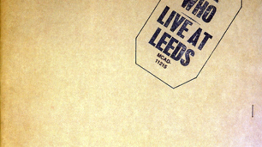 The Who, 'Live at Leeds'