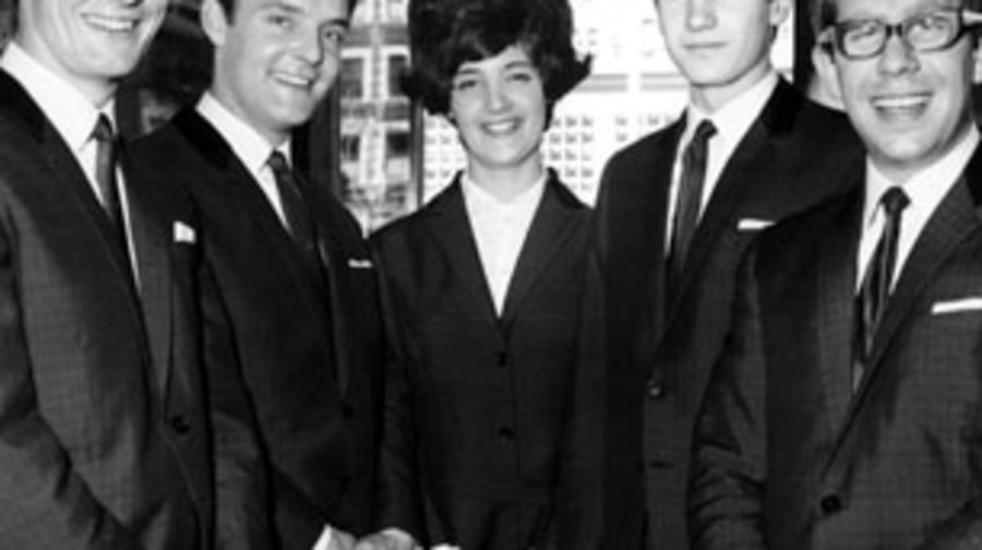 1964 The Honeycombs hit big on both sides of the Atlantic