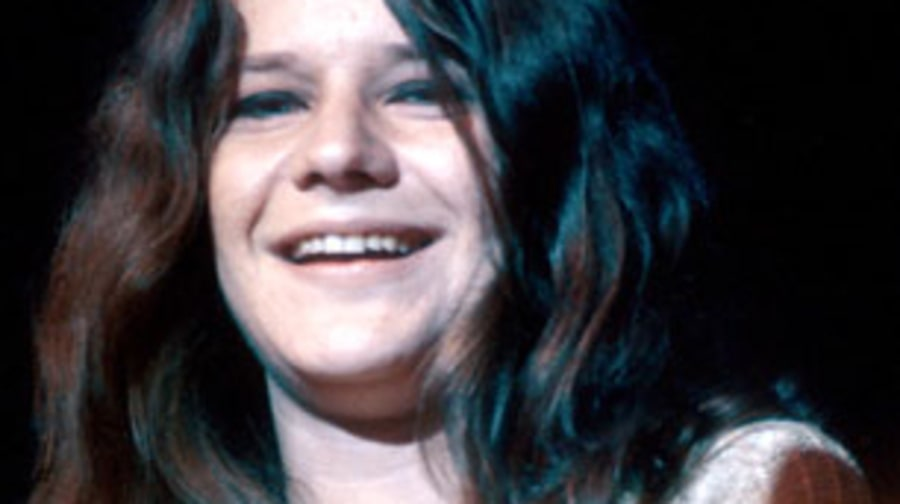 1967 Janis Joplin takes a piece of our heart