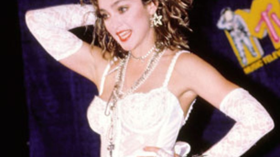 1984 Madonna scandalizes world at MTV Awards