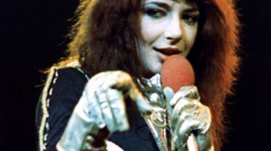 1978 Kate Bush debuts with 'The Kick Inside'