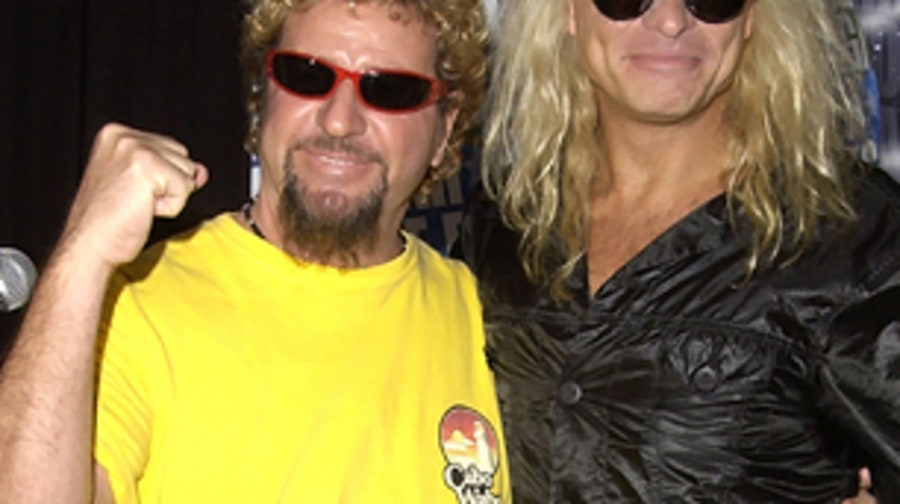 Van Halen with two lead singers