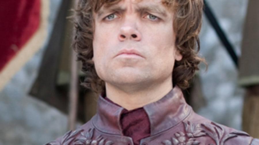 Tyrion Lannister looks in the mirror