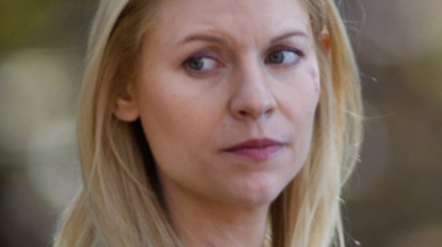 Claire Danes confronts Brody