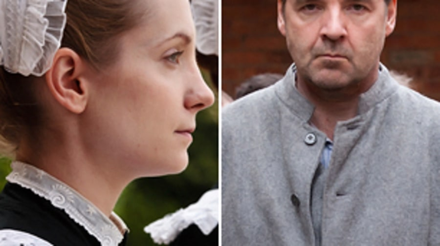 'Downton Abbey': Anna and Mr. Bates (Season 2, Episodes 1 and 8)