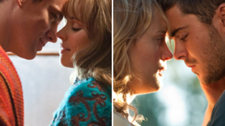 'The Vow' and 'The Lucky One'